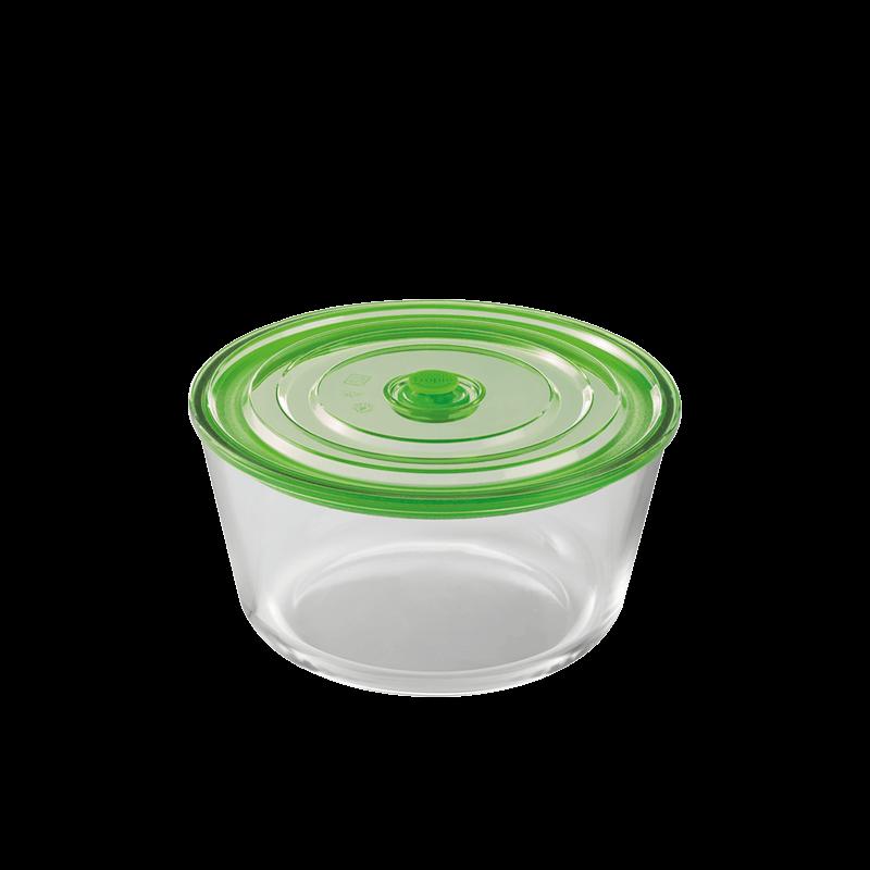 hermético circular de 0.85l kitchen tropic air
