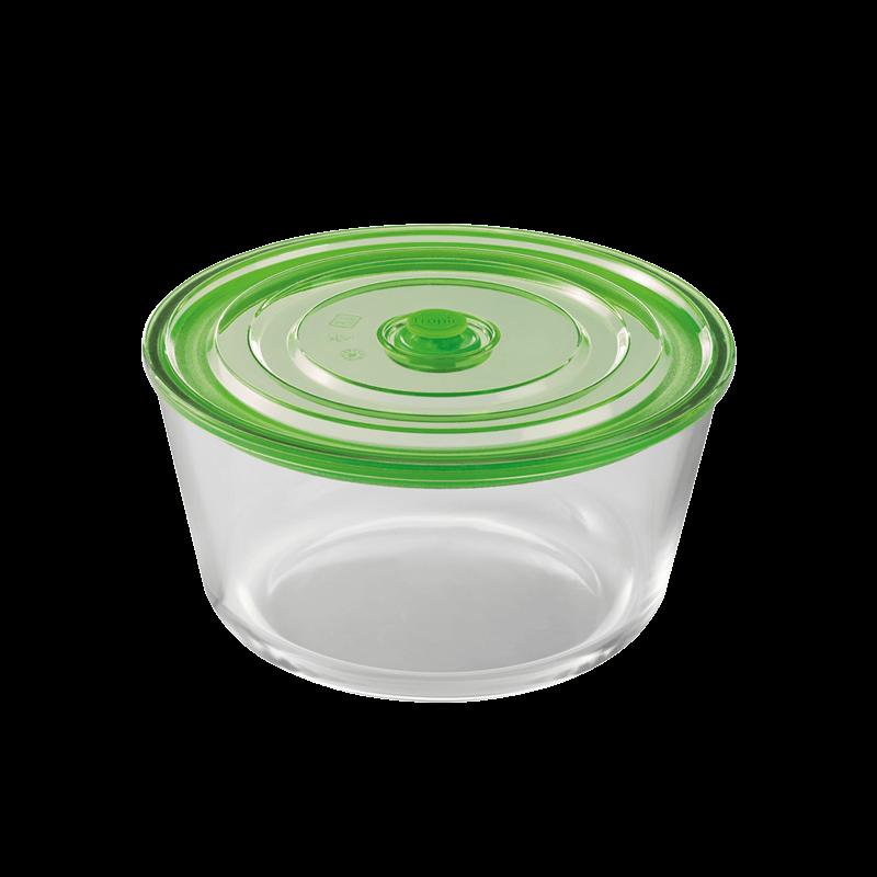 hermético circular de 1,65l kitchen tropic air