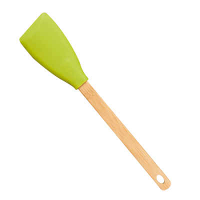 Espátula Bambú Silicona - Kitchen Tropic